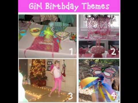 diy birthday party games decorating ideas for girls youtube