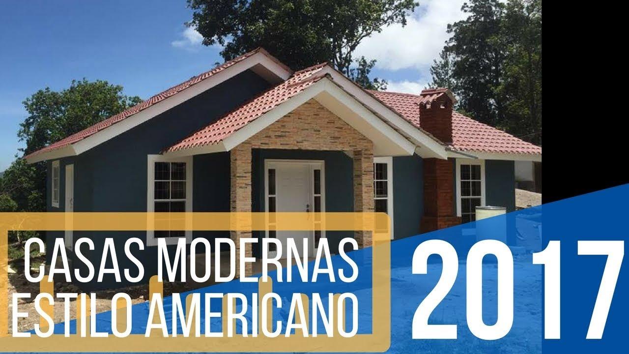 CASAS MODERNAS ESTILO AMERICANO BARATAS en La Esperanza Intibuca