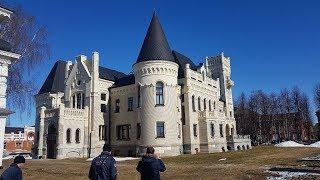 Замок Понизовкина в Красном Профинтерне и село Вятское