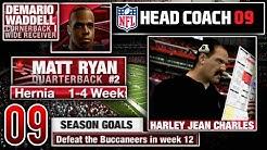 Backup QB Becomes Starter vs 1 Loss Opponent - NFL Head Coach 09 Career Mode | Ep.9