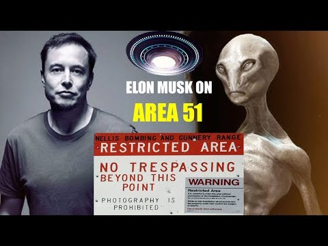 Elon Musk speaking about AREA 51(aliens) and AREA 59 of SPACEX