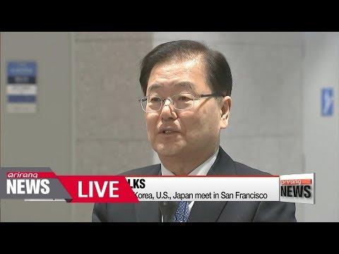 [LIVE/ARIRANG NEWS] South Korea, U.S., Japan security advisors held meeting San Francisco