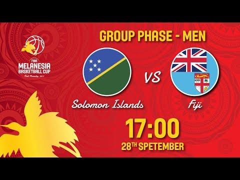 LIVE 🔴 - Solomon Islands v Fiji - FIBA Melanesia Basketball Cup 2017