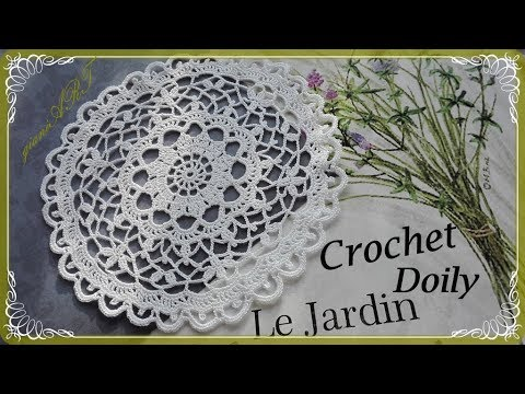 Crochet Lace Doily Pattern Step By Step Youtube
