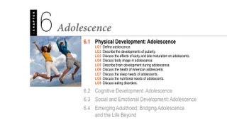 1100 06.1 - Adolescence - Physical Development