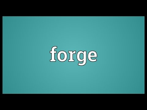 Forge Meaning