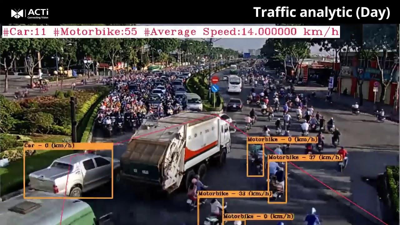 01 ACTi Traffic analytic (Day) | ACTi Corporation