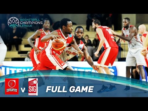 Juventus Utena v SIG Strasbourg - Full Game - Basketball Champions League