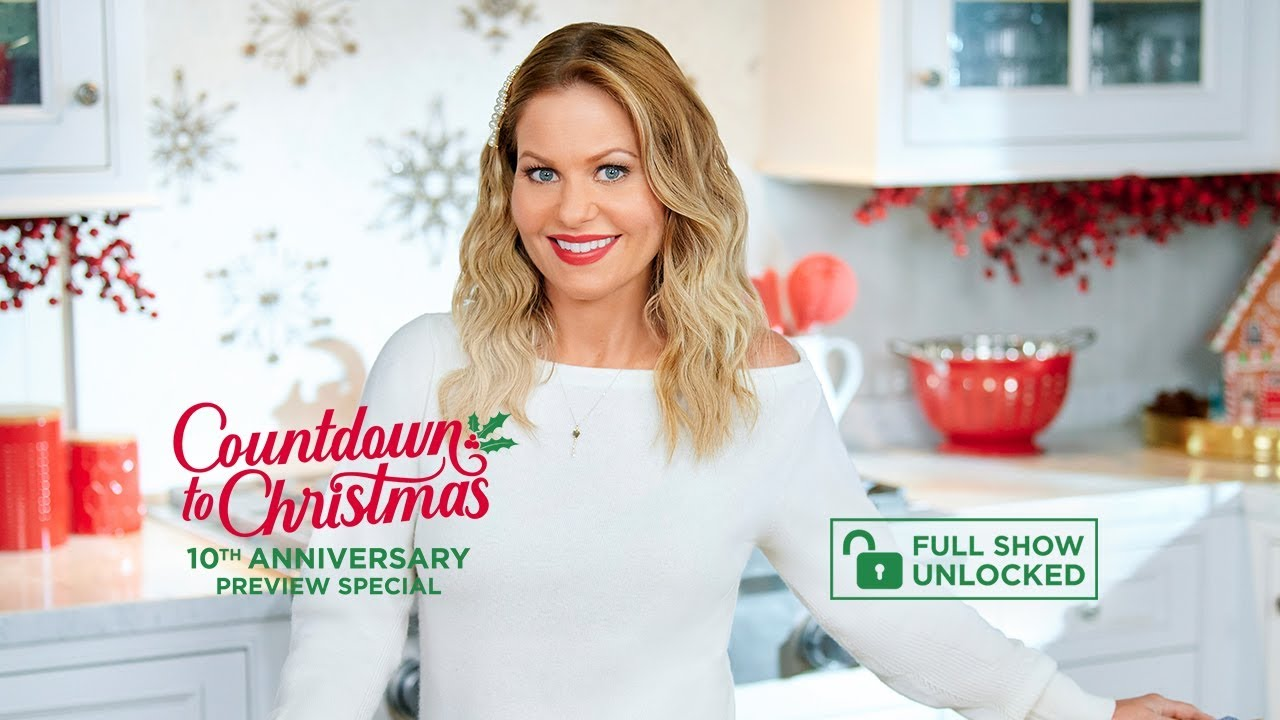 Countdown To Christmas 10th Anniversary Preview Special With Candace Cameron Bure Hallmark Channel Youtube