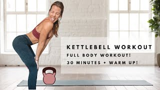 30 MINUTE KETTLEBELL HOME WORKOUT | CARLYROWENA