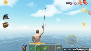 BURNT POTATOS FOR THE WIN!!!!| RAFT Episode 2 with nicgamer088 ROBLOX and more