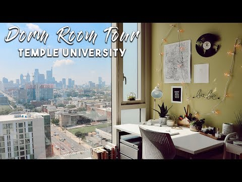 Dorm Room Tour | Temple University | Taylor Sison