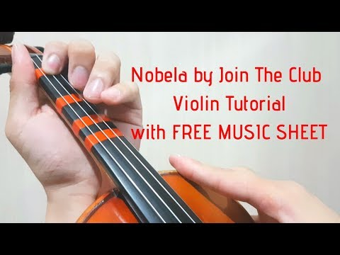 Nobela by Join The Club Violin Tutorial with FREE Music Sheet thumbnail