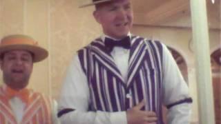Walt Disney World Dapper Dans sing Happy Birthday! Feb. 2012