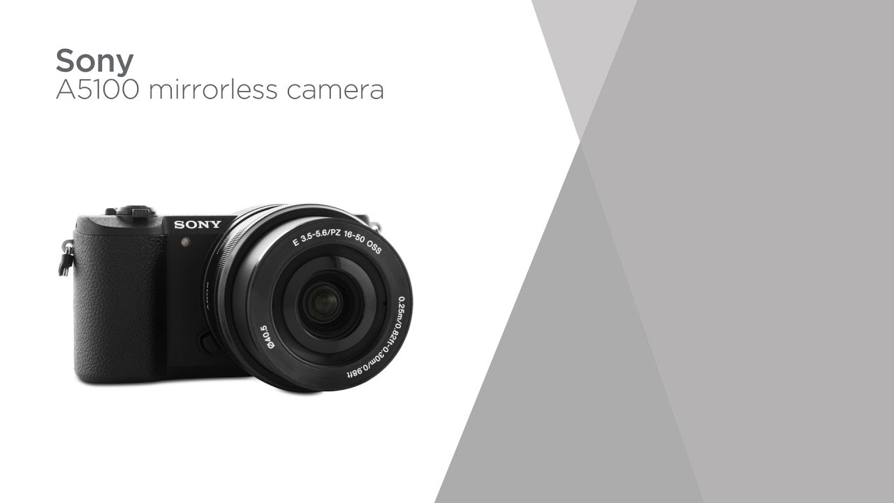 Sony A5100 Mirrorless Camera With 16 50 Mm F 35 56 Lens Product Alpha Kit 50mm Overview Currys Pc World