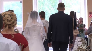 Диско Артём и Шеляг Инна / Бракосочетание / Церковь Спасение