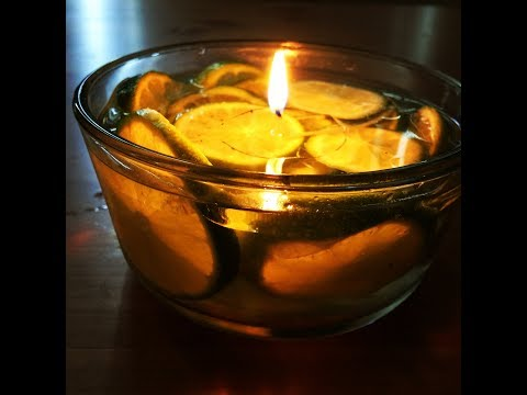 DIY Refreshing Lemon Water Candle For This Diwali