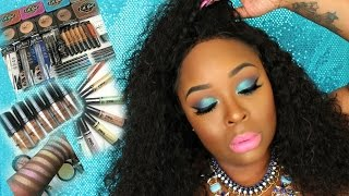 FULL FACE USING ALL NEW L.A.GIRL COSMETICS! PLUS SWATCHES