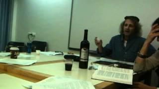 Benção Shehacol - Tish com Shlomo Fux HUC Jerusalem