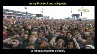 The Subways - Rock & roll queen (inglés y español)