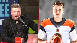 Pat McAfee Reacts To Joe Burrow Being Drafted At #1 To The Bengals