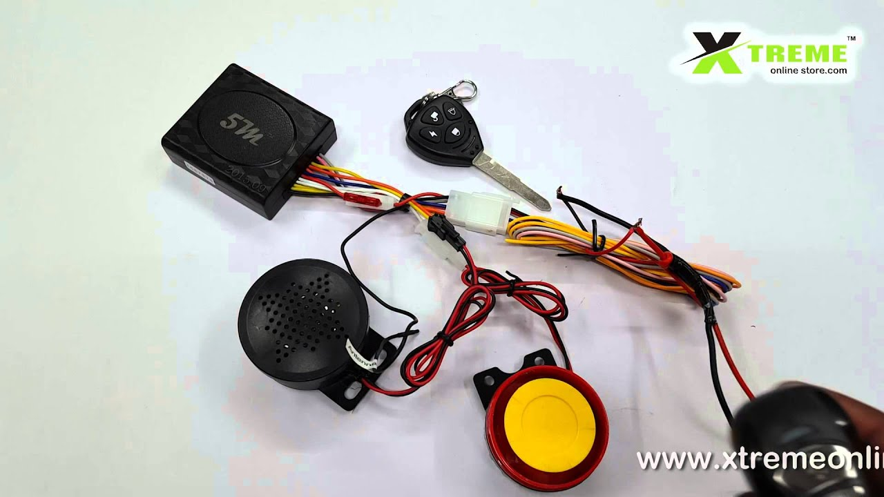 Talking Anti Theft Security Alarm System With Double Remote For Lowcost Power Buzzer Circuit Diagram Centre