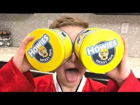 Kids HocKey  How to Tape your Hockey Stick