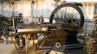 Crossley,Start,slide valve,stationary engine,Gasmotor,Stationärmotor,Standmotor