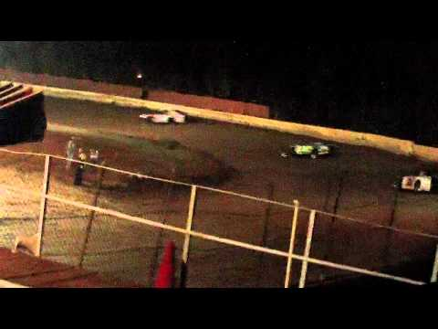 lake cumberland speedway 10 21 11 open wheel heat 1 part 1