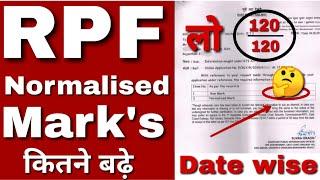 RPF Constable Normalization के बाद नंबर आए 120 में से 120| आप भी चौंक जाएंगे|Proof के साथ देखिए 💥