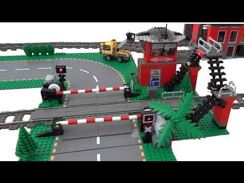 Thumbnail: Lego train level crossing 10128 automated by Arduino