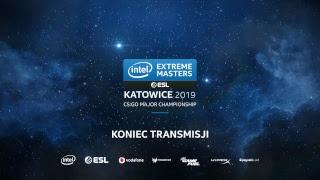 IEM Katowice 2019 CS:GO Major | Dzień 5 -  Legends Stage