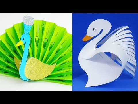 11 DIY paper crafts for kids  Paper birds