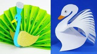 11 DIY paper crafts for kids  Paper birds