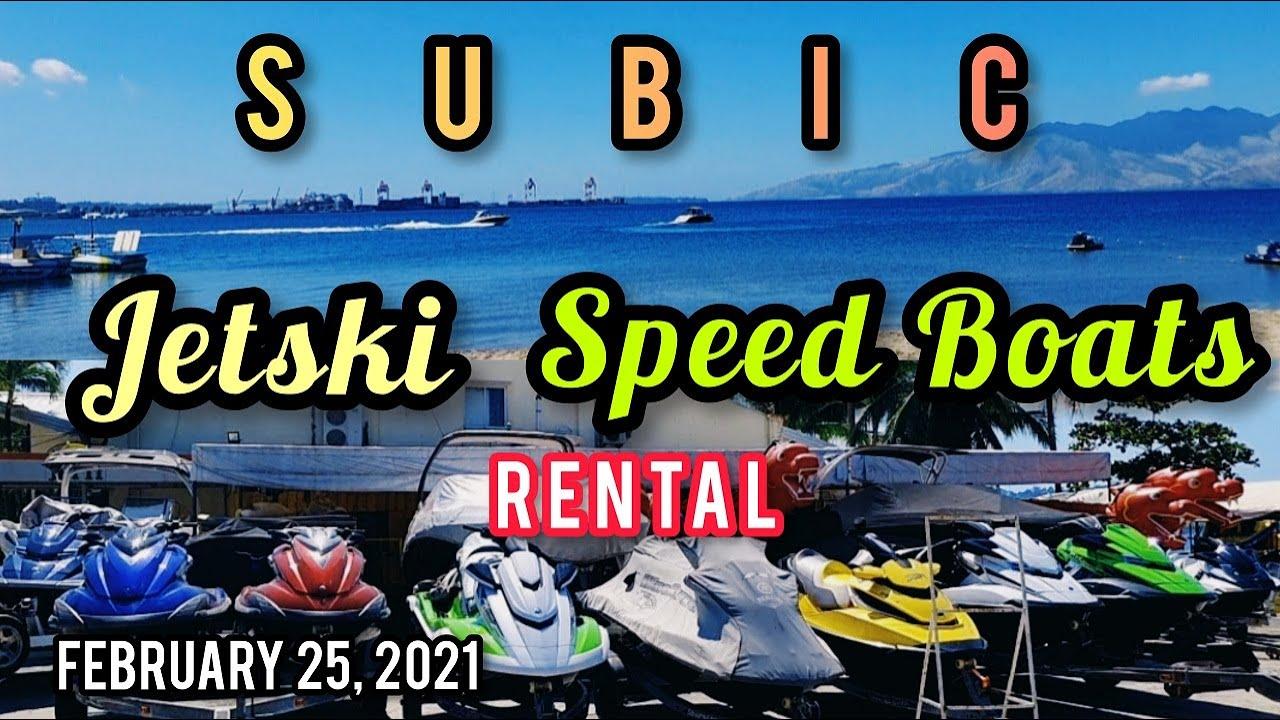 JETSKI & SPEED BOATS RENTAL MAGKANO? NETWORX JETSKI SPORTS, SUBIC. SIGHTSEEING TOUR. 02-25-21...