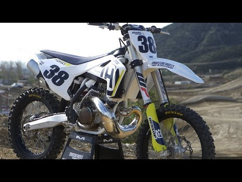 2018 Husqvarna TC250 2 Stroke RAW - Motocross Action Magazine