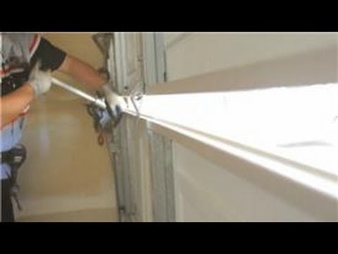 how to replace bottom garage door panel 3