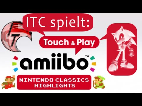 Let's Show: amiibo Touch & Play: Sonic Figur (Zelda a Link to the Past)