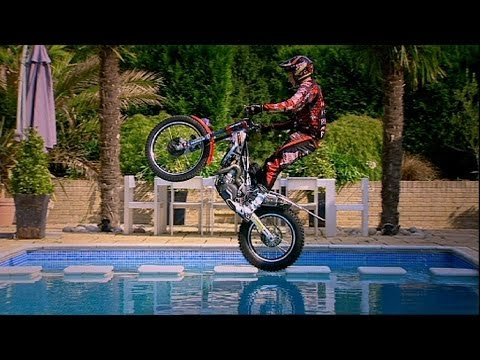 Biking in Hammond's house! DIY Top Gear - Top Gear Uncovered