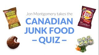 Jon Montgomery takes our Canadian junk food quiz
