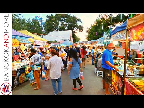 THAILAND Street Food And Temple Festival