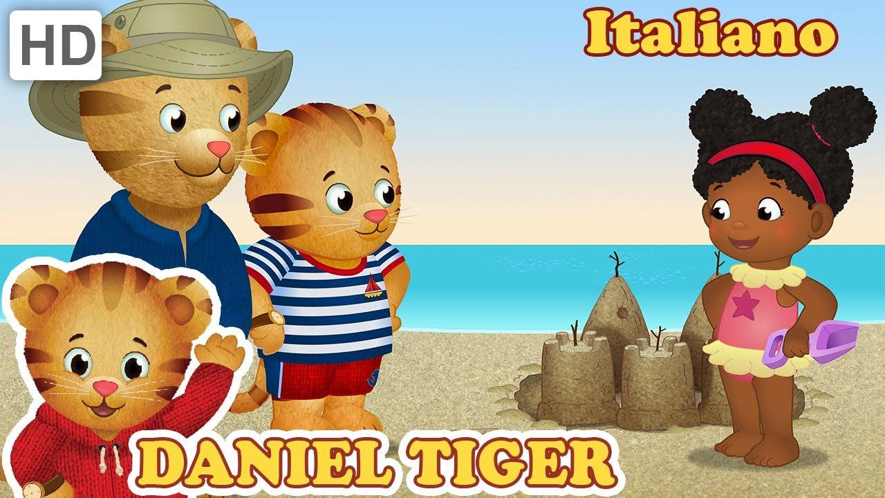 Daniel Tiger in Italiano - Giocare Fuori Casa è Divertente
