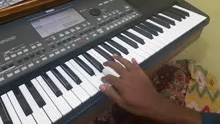 Kaala Katravai Patravai Song Intro On Keyboard