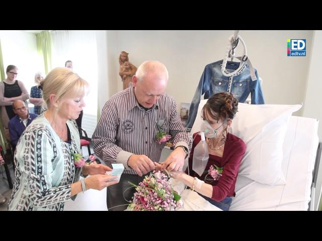 Doodzieke Diana trouwt met Leo in ziekenhuisbed in MMC Veldhoven