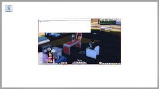 Как включить или выключить полноэкранный режим в игре Sims 4