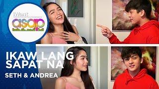 Seth Fedelin and Andrea Brillantes - Ikaw Lang Sapat Na   iWant ASAP Highlights