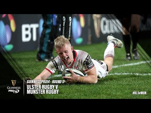 Guinness PRO14 Round 11 Highlights: Ulster Rugby v Munster Rugby