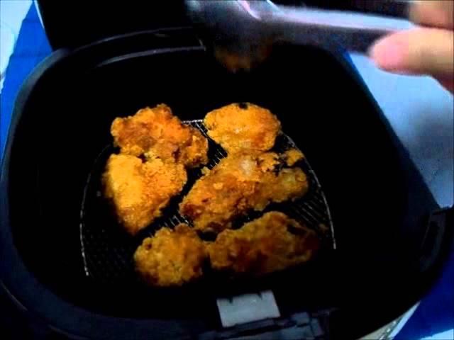 Philips Airfryer Frozen Fried Chicken Youtube