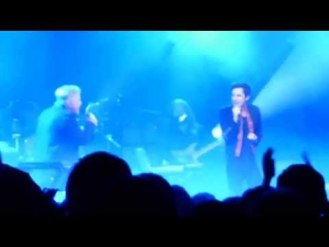BRANDON FLOWERS AND BERNARD SUMNER - BIZARRE LOVE TRIANGLE LIVE - Manchester Academy 24 May 2015