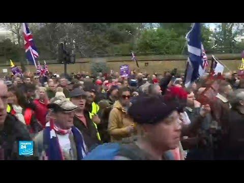 مظاهرات مؤيدة وأخرى معارضة لخروج بريطانيا من الاتحاد الأوروبي  - نشر قبل 2 ساعة